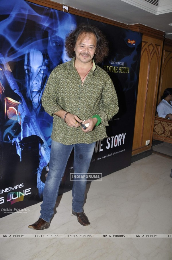 Celebs at A strange Love Story film music launch at Juhu. .