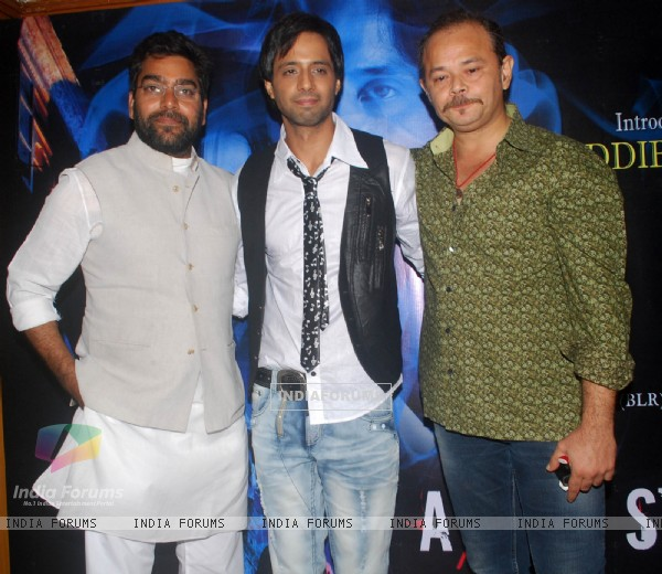 Ashutosh Rana and Raj Zutshi at A strange Love Story film music launch at Juhu