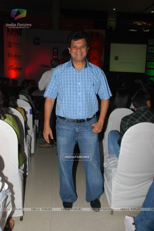 Viren Shah at Goradia School of Professional Studies Organizing Fashion Show with the theme 'Melange