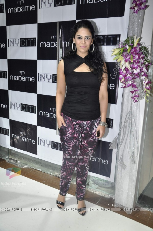 Mona Singh at NY Citi store at Andheri