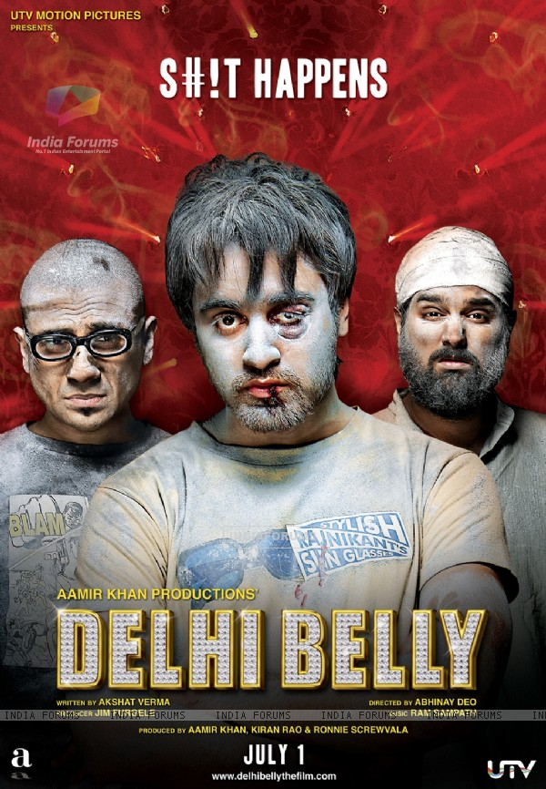 Poster of the movie Delhi Belly (133771)