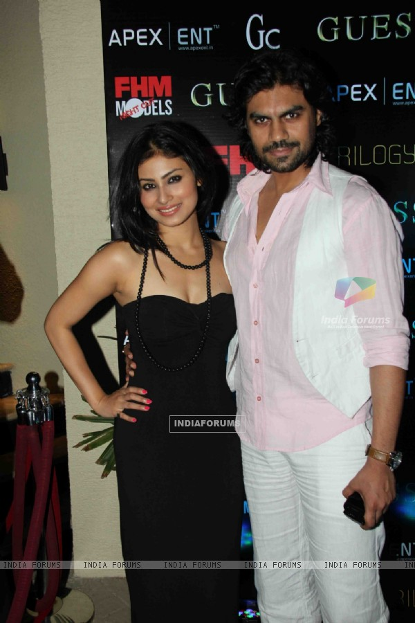 Gaurav Chopra and Mouni Roy at issue of FHM magazine at Sea Princess