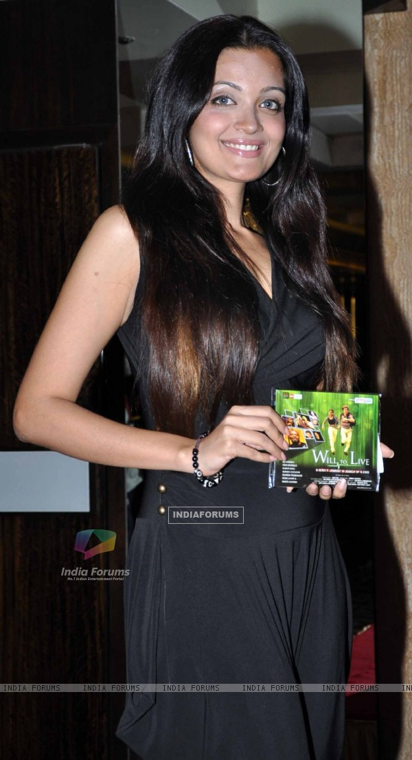 Celeb at music launch of movie 'Will To Live'