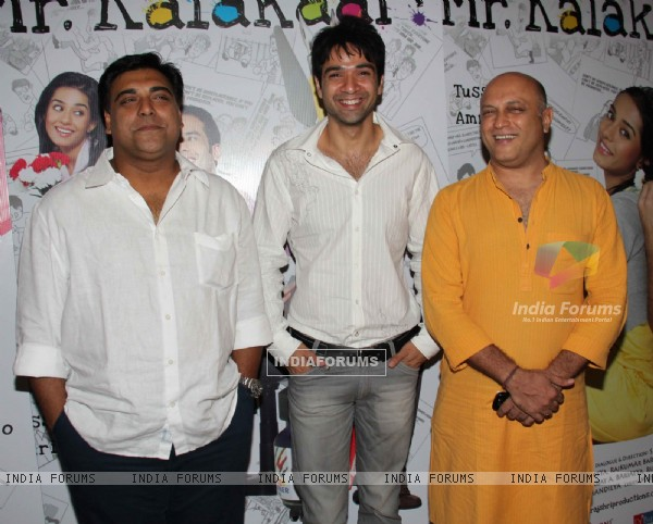 Ram Kapoor and Yatin Karyekar at 'Love U... Mr. Kalakaar!' movie screening (134382)