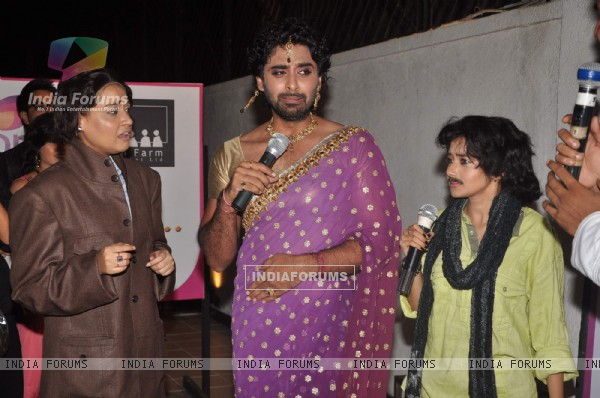 Rohit Khurana and Tina Dutta at Uttaran success bash at Juhu