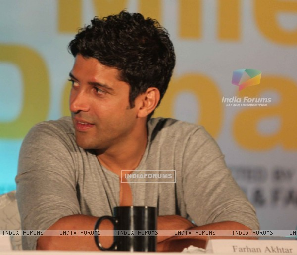 Farhan Akhtar at 'Zindagi Na Milegi Dobara' movie first look launch