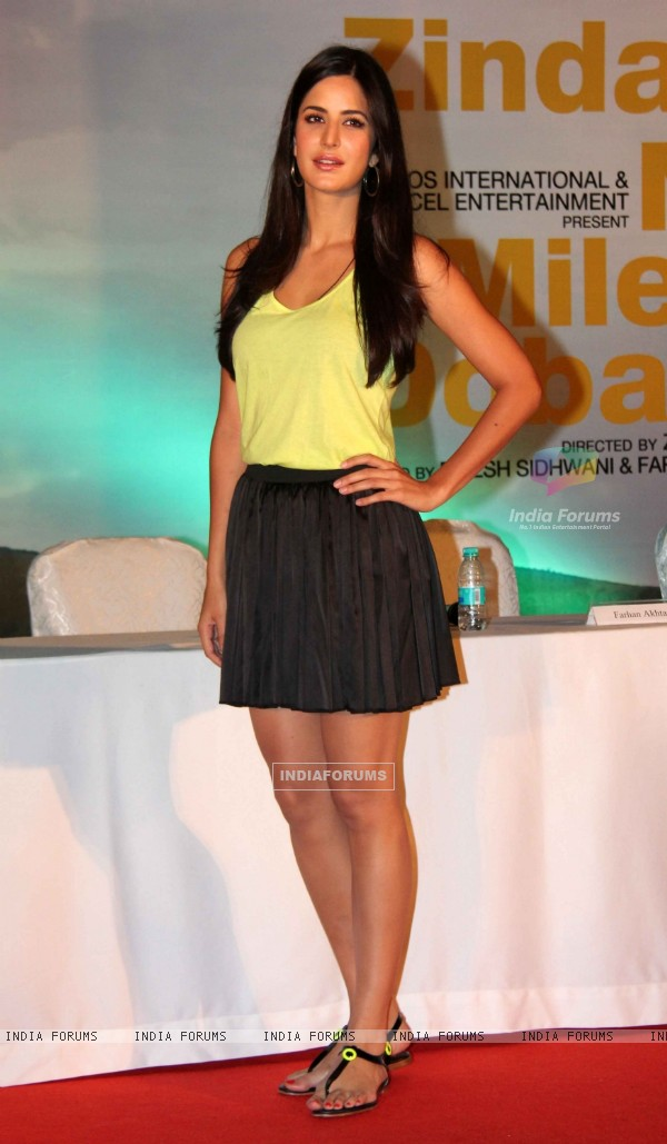 Katrina Kaif at 'Zindagi Na Milegi Dobara' movie first look launch
