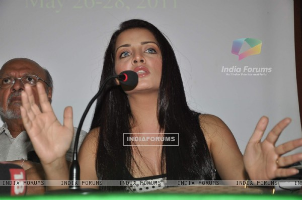 Celina Jaitley at Kashish Mumbai International Queer Film Festival press meet at press Club