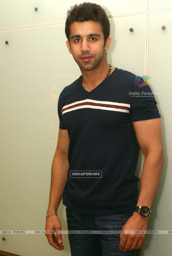 Rajvvir Aroraa at a press meet to promote his film ''404'', in New Delhi