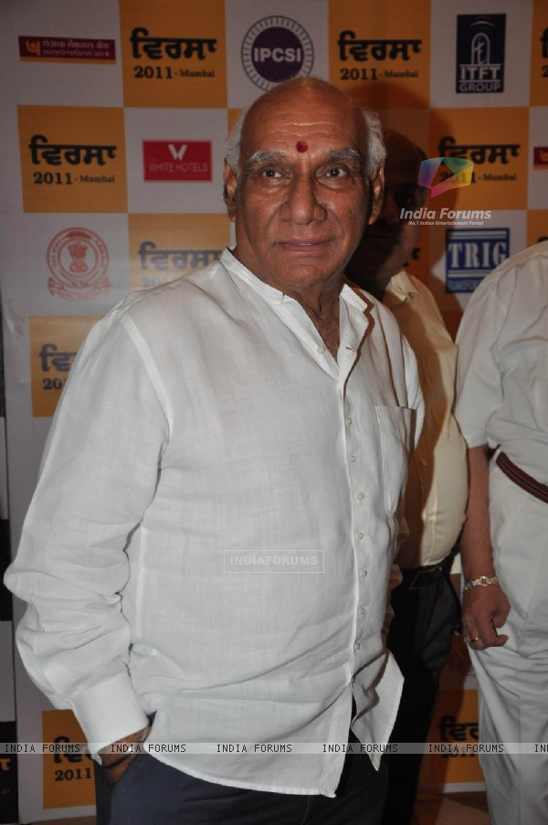 Yash Raj Chopra at Punjabi Virsa 2011 awards at JW Marriott