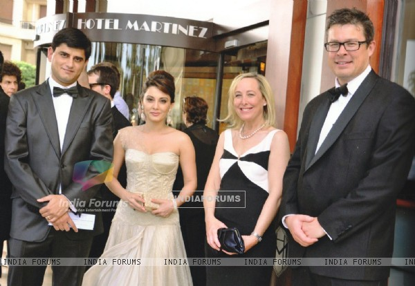 Minissha Lamba sashayed down the red carpet at the 64th Cannes Film Festival