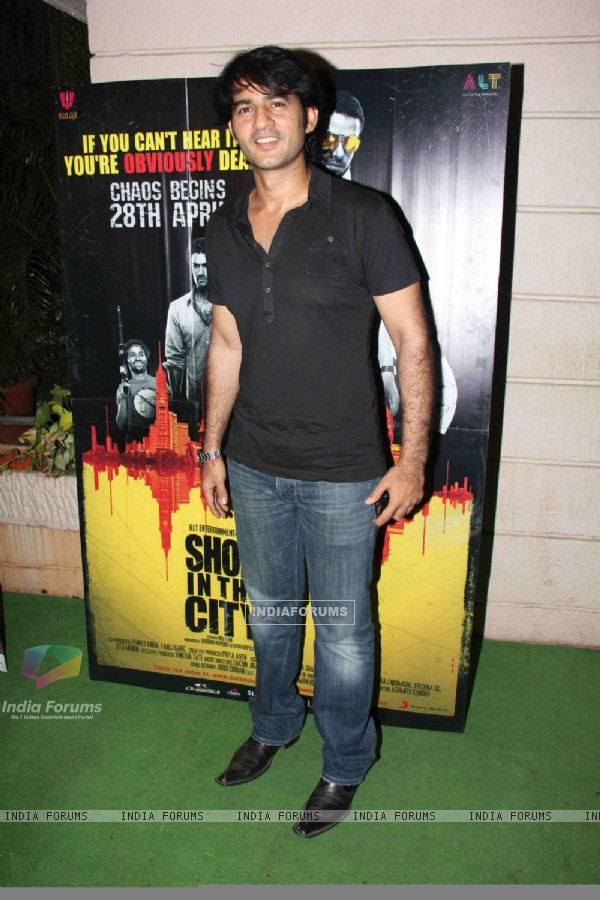 Hiten Tejwani at 'Ragini MMS' movie success bash