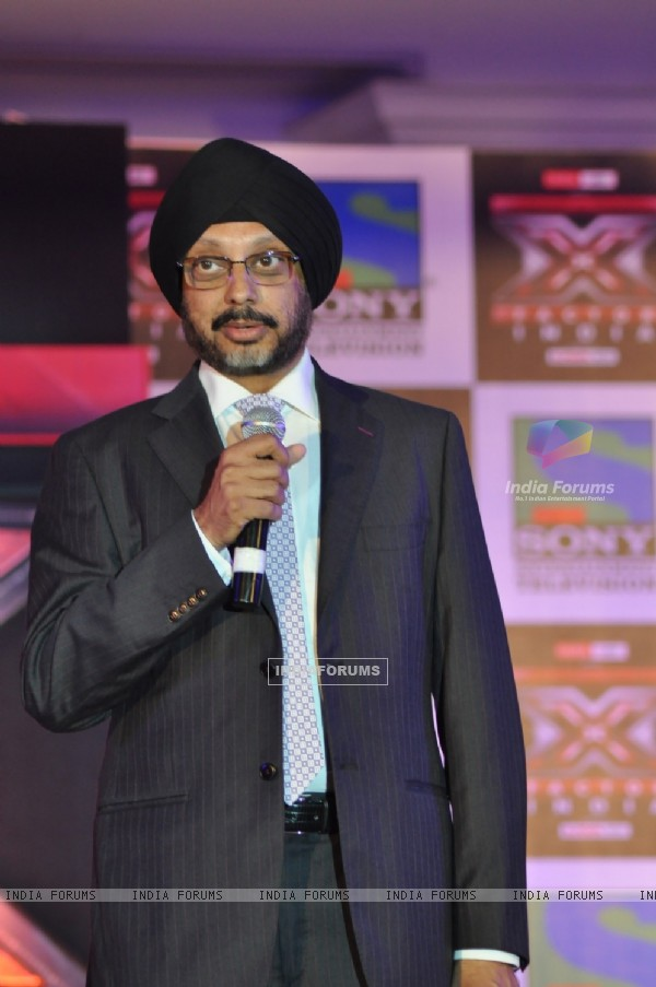 Celeb at 'X Factor India' Launch