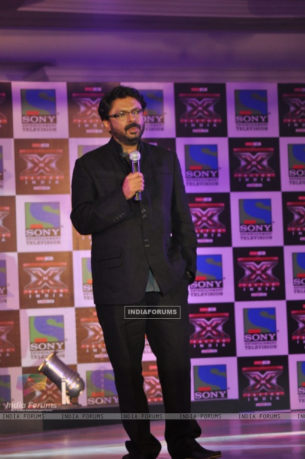 Sanjay Leela Bhansali at 'X Factor India' Launch