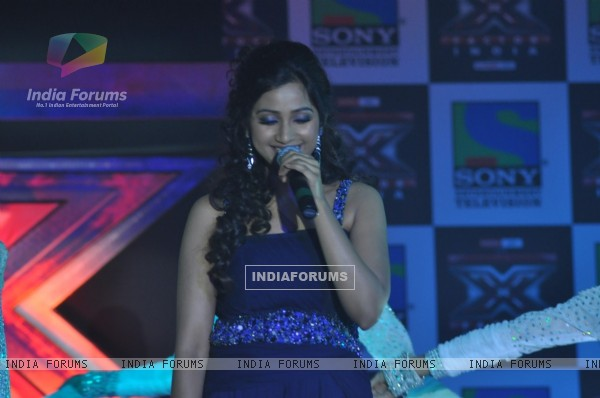 Shreya Ghoshal at 'X Factor India' Launch