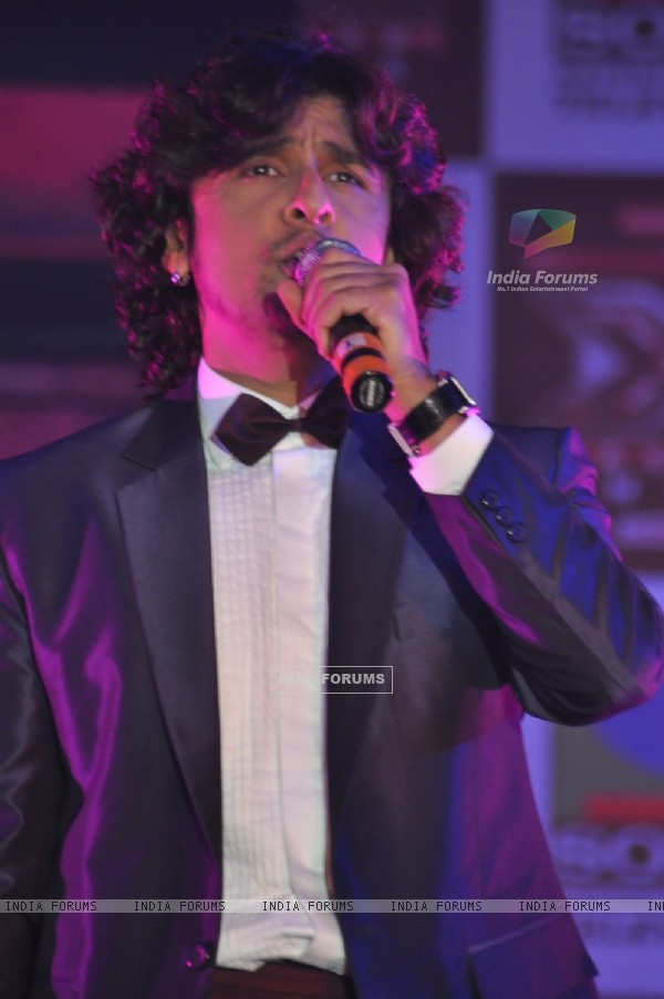 Sonu Nigam at 'X Factor India' Launch