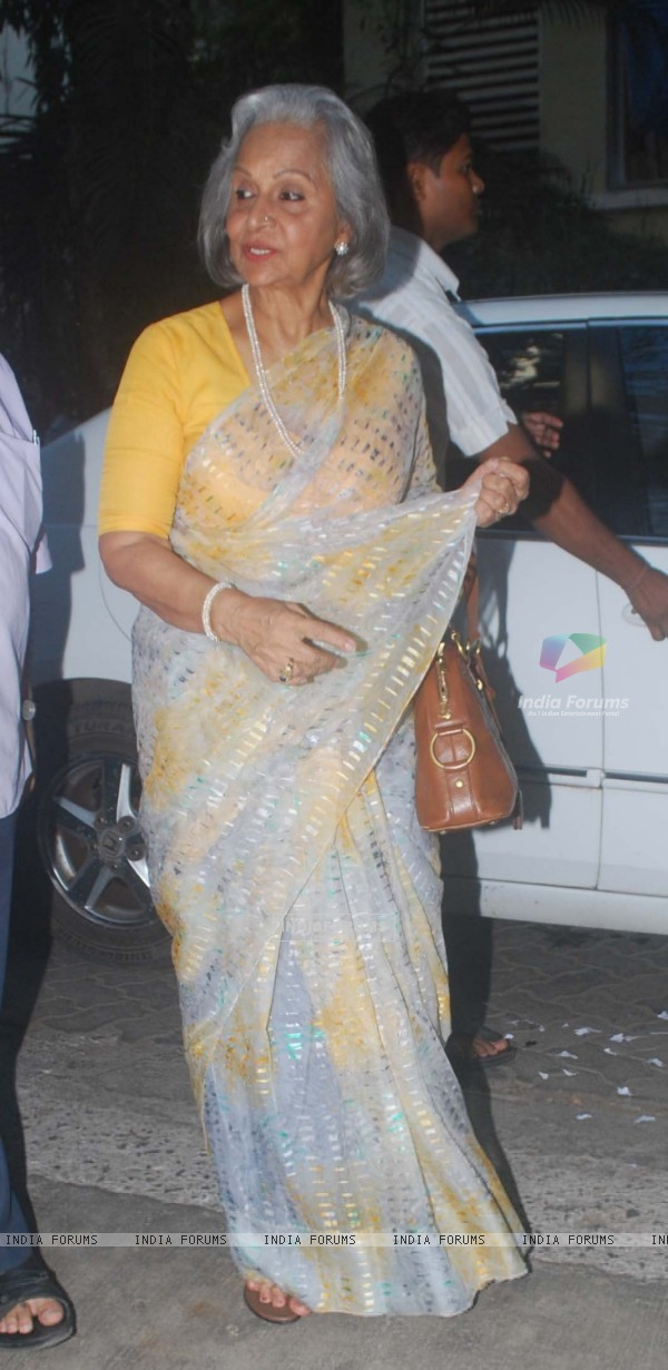 Waheeda Rehman at Special screening of movie 'Ready'