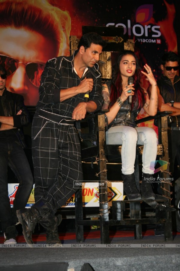 Akshay Kumar at Fear Factor Khatron Ke Khiladi Season 4