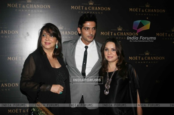 Zayed Khan at Farah Ali Khan's dinner for Moet & Chandon champagne launch