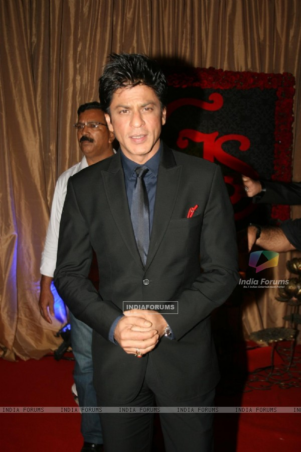 Shah Rukh Khan at Ganesh Hegde's Wedding reception