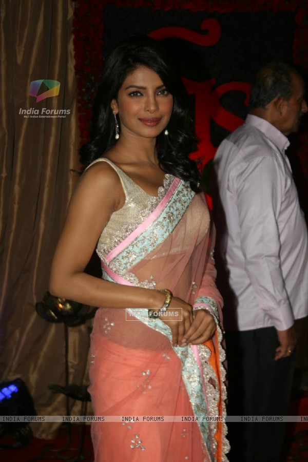 Priyanka Chopra at Ganesh Hegde's Wedding reception