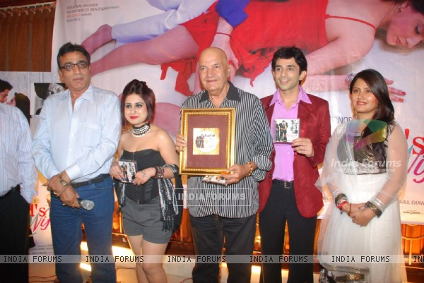 Prem Chopra and Cast at My Husband's Wife music launch at Club Millennium