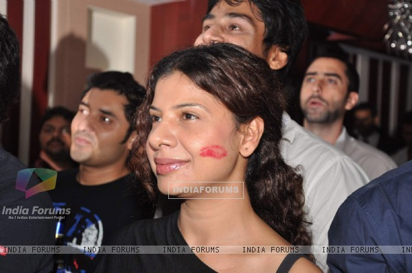 Sambhavna Seth at Khatron Ke Khiladi bash hosted by Endemol at Grillopolis