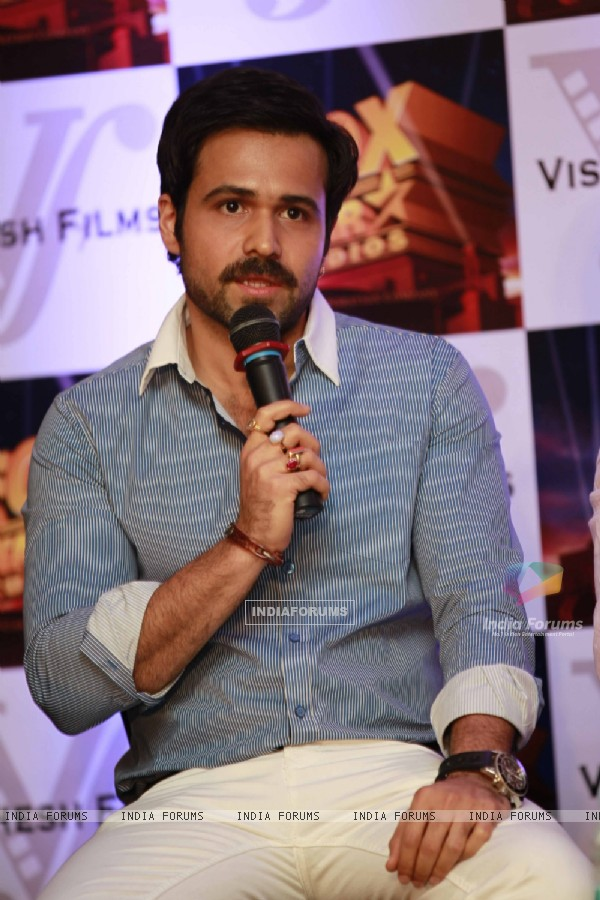 Emraan Hashmi grace Fox Star Vishesh Studio tie up meet at JW Marriott