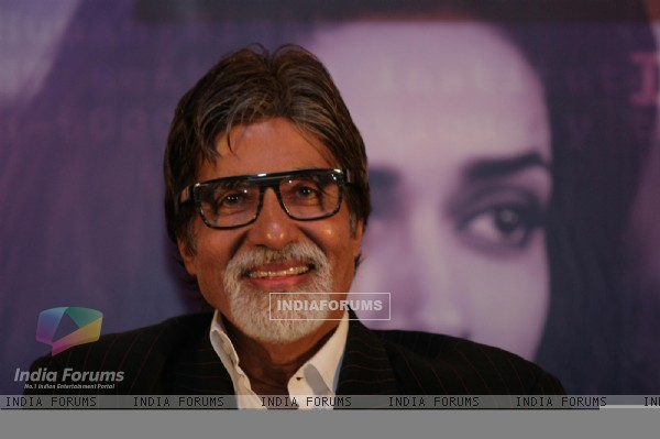Amitabh Bachchan at film 'Aarakshan' first look launch at Hotel Novotel in Juhu, Mumbai
