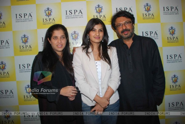 Sanjay Leela Bhansali at Pony Verma's Indian School of Performing Arts school launch, Andheri
