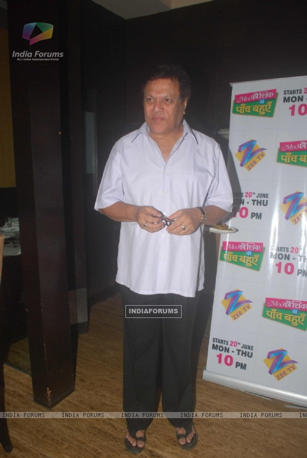 Rajiv Verma at Zee launches Mrs Kaushik serial at Mainland China