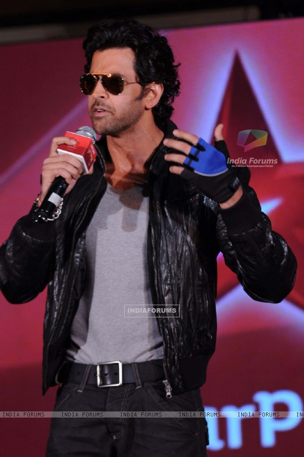 Hrithik Roshan at television's reality show platform, 'Just Dance' press meet at TajLands End