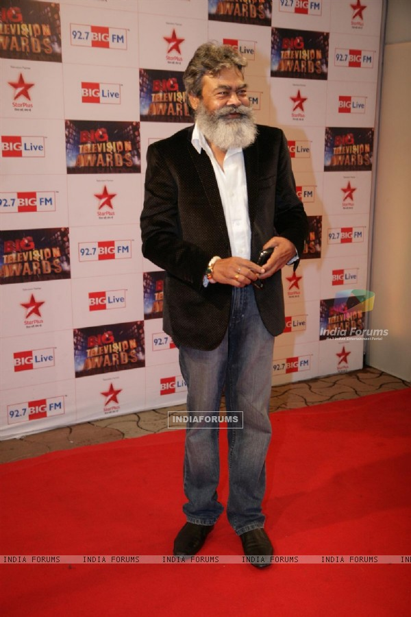 Anupam Shyam at Big Television Awards at YashRaj Studios