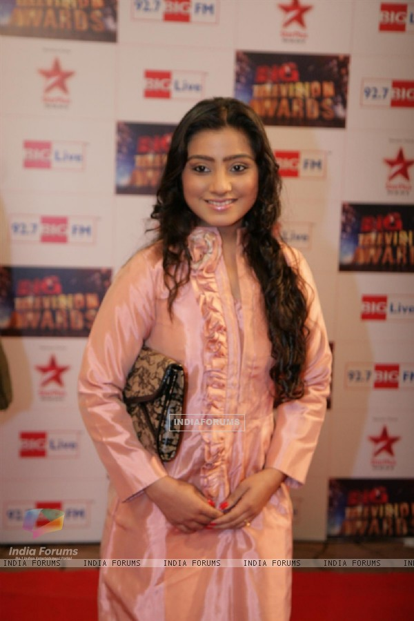 Neha Marda at Big Television Awards at YashRaj Studios