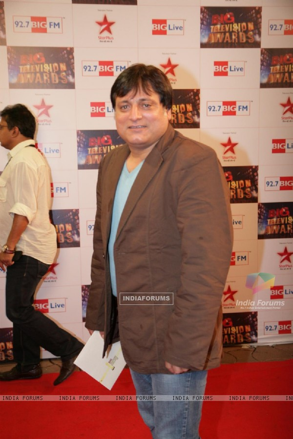Manoj Joshi at Big Television Awards at YashRaj Studios
