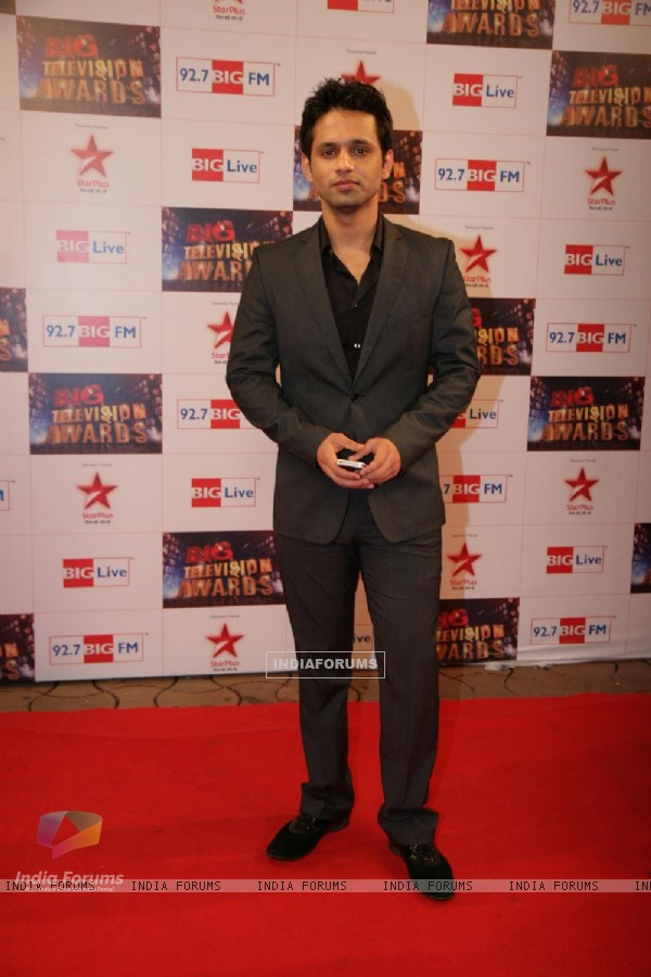 Rahul Vaidya at Big Television Awards at YashRaj Studios