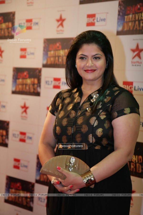 Pragati Mehra at Big Television Awards at YashRaj Studios