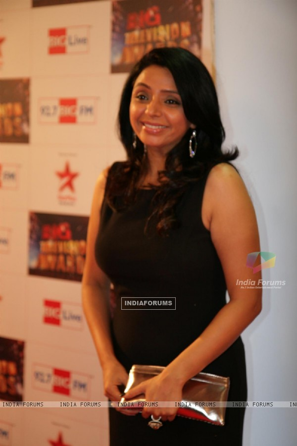 Vaishali Thakkar at Big Television Awards at YashRaj Studios