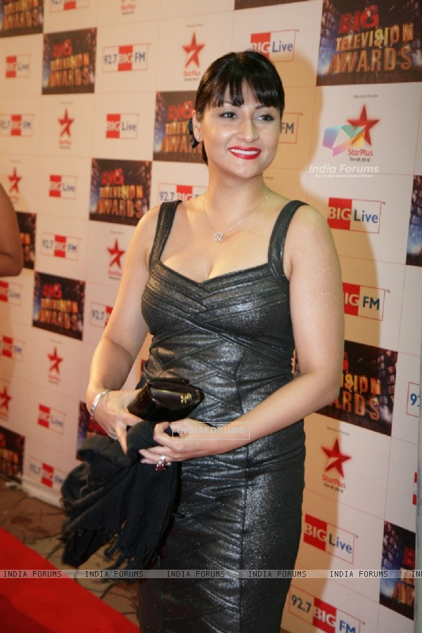 Urvashi Dholakia at Big Television Awards at YashRaj Studios