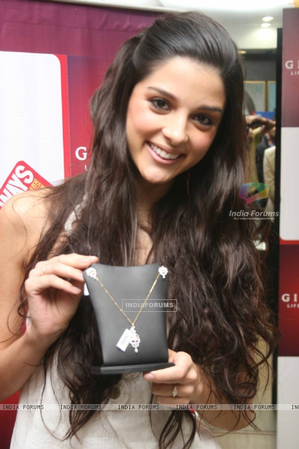 Always Kabhi Kabhi star Giselle Monteiro at Gitanjali D'damas new collection launch, Atria Mall