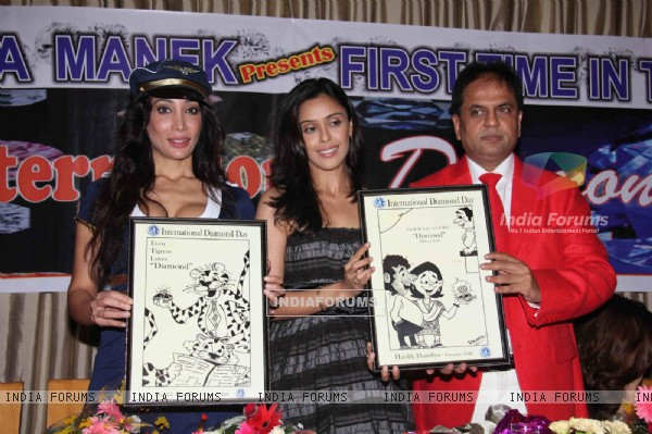 Hrishita Bhatt and Sofia Hayat grace Diamond Day Celebrations