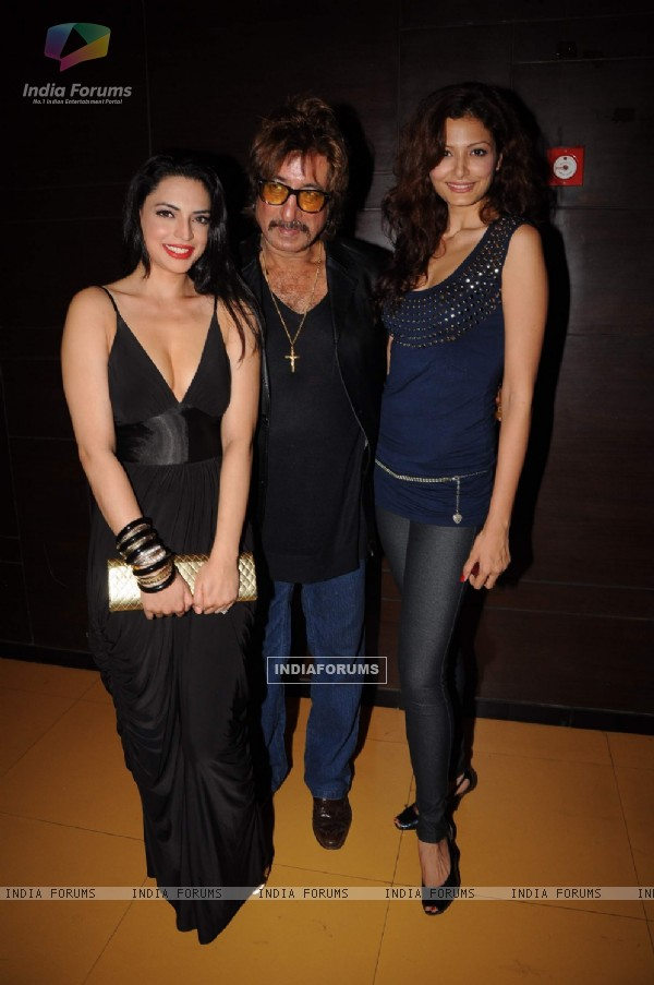 Shakti Kapoor at Bin Bulaye Baarati premiere at Cinemax. .