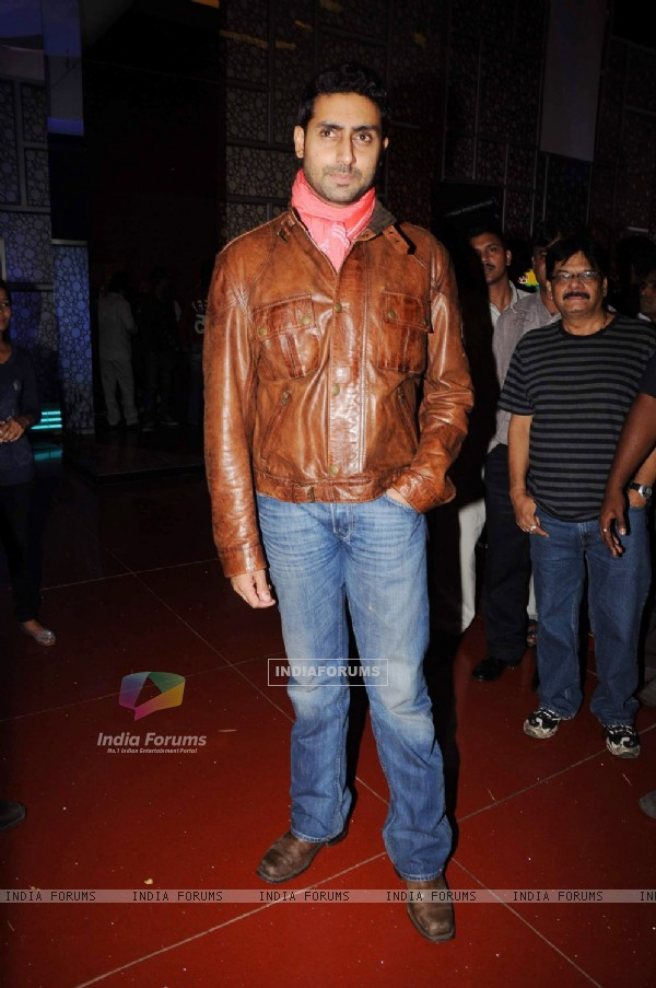 Abhishek at Bin Bulaye Baarati premiere at Cinemax. .