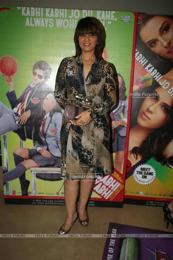 Neeta Lulla at Premiere of the Movie Always Kabhi Kabhi at PVR, Juhu