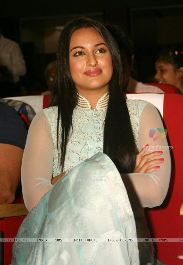 Sonakshi Sinha at the inauguration of the public screenings of the National Award Winning films of 2010, in New Delhi