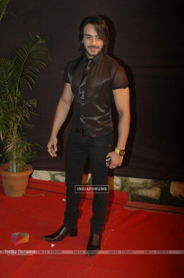 Angad Hasija at the Gold Awards at Film City
