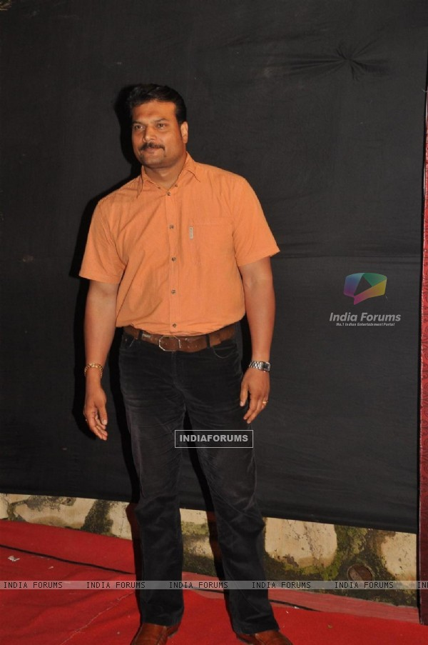 Dayanand Shetty at the Gold Awards at Film City