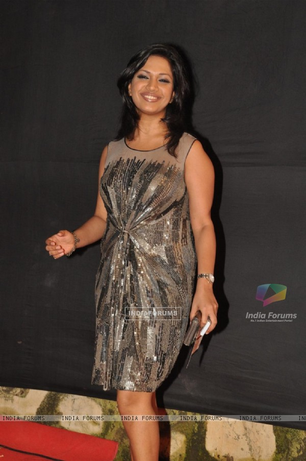 Mansi Verma at the Gold Awards at Film City