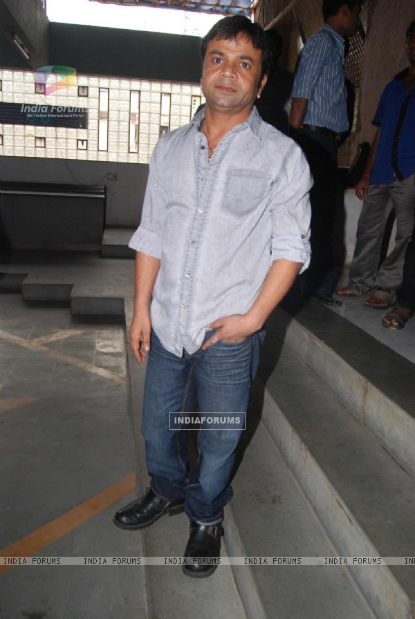 Rajpal Yadav at Special screening of Bin Bulaye Baarati for Helpage India at Parel Mumbai