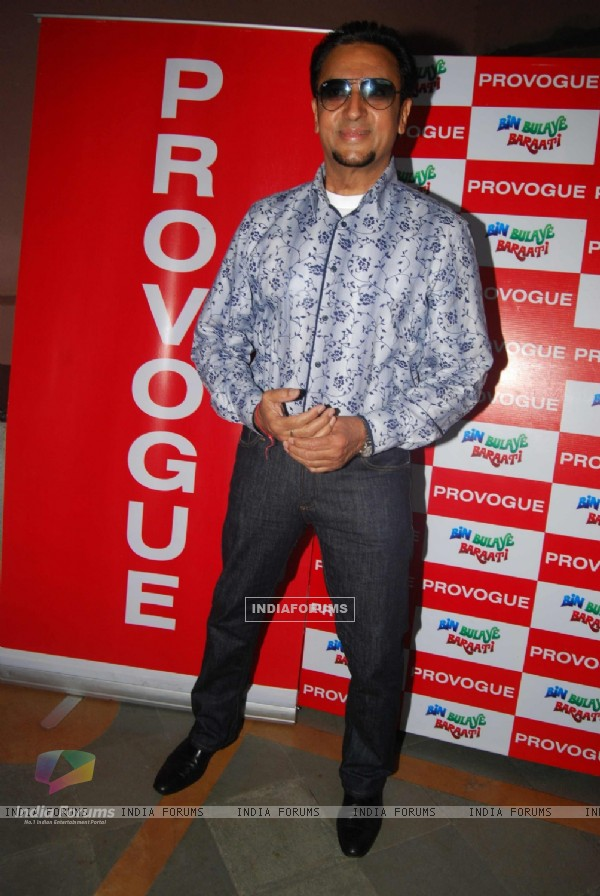 Gulshan Grover at Special screening of Bin Bulaye Baarati for Helpage India at Parel Mumbai